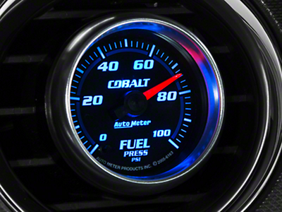Auto Meter Cobalt Fuel Pressure Gauge - Electrical (79-18 All)