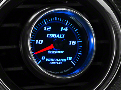 Auto Meter Cobalt Wideband Air/Fuel Ratio Gauge - Analog (79-18 All)