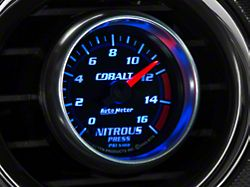 Auto Meter Cobalt Nitrous Pressure Gauge; Electrical (Universal; Some Adaptation May Be Required)