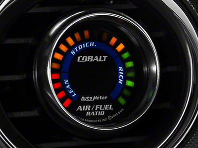 Auto Meter Cobalt Air/Fuel Ratio Gauge - Digital (79-18 All)