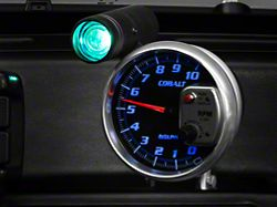 Auto Meter Cobalt 5-Inch Tachometer with Shift Light (Universal; Some Adaptation May Be Required)