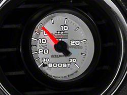 Auto Meter Phantom II 30 PSI Boost/Vac Gauge - Mechanical (79-19 All)