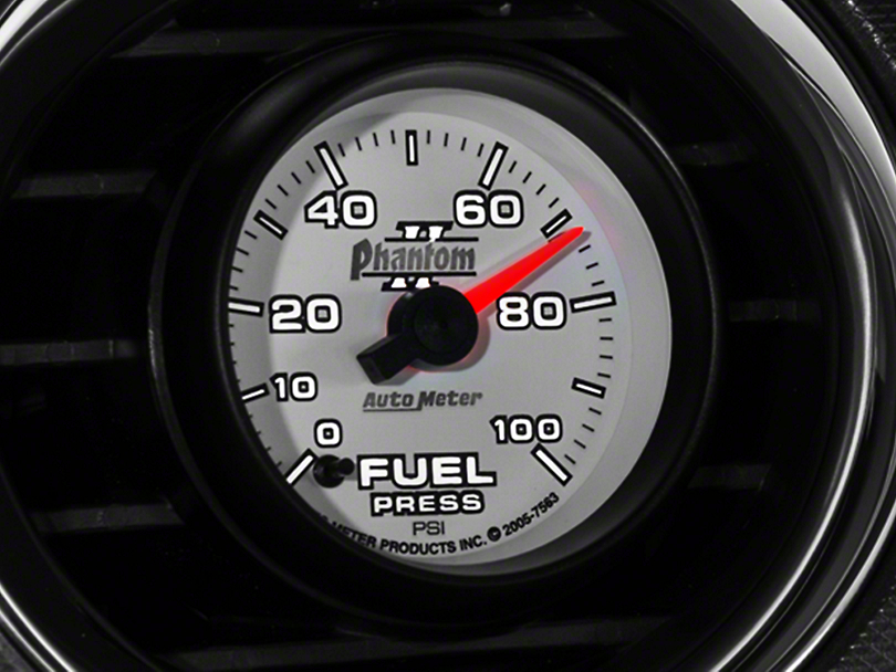 Auto Meter Phantom II Fuel Pressure Gauge - Electrical (79-18 All)