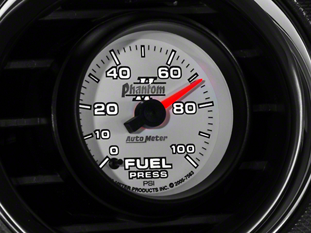 Auto Meter Phantom II Fuel Pressure Gauge - Electrical (79-20 All)