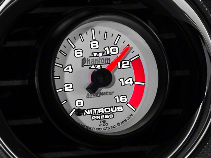 Auto Meter Phantom II Nitrous Pressure Gauge - Electrical (79-19 All)