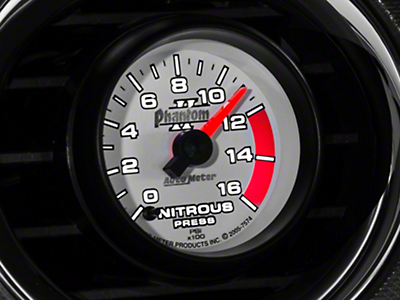 Auto Meter Phantom II Nitrous Pressure Gauge - Electrical (79-18 All)
