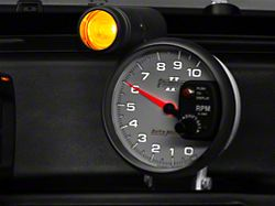Auto Meter Phantom II 5-Inch Tachometer with Shift Light (Universal; Some Adaptation May Be Required)