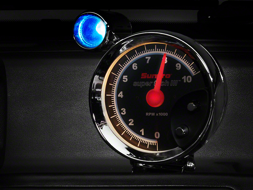 Bosch Super Tach III 5 in. Tach w/ Shift Light (79-14 All)