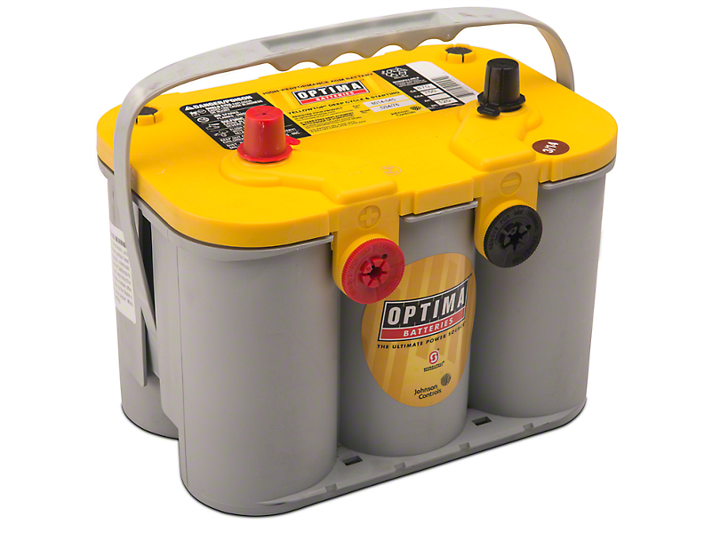 Optima Performance Battery; Yellow Top (79-10 All)