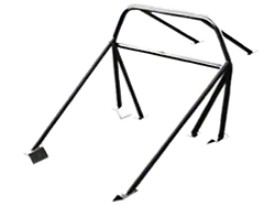 SR Performance Mustang Roll Cage Swing Out Side Bar Kit