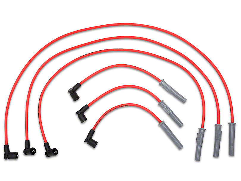 MSD Super Conductor 8.5mm Spark Plug Wires; Red (01-04 V6)