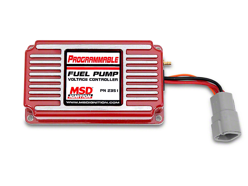 MSD Programmable Fuel Pump Voltage Booster (86-14 All)