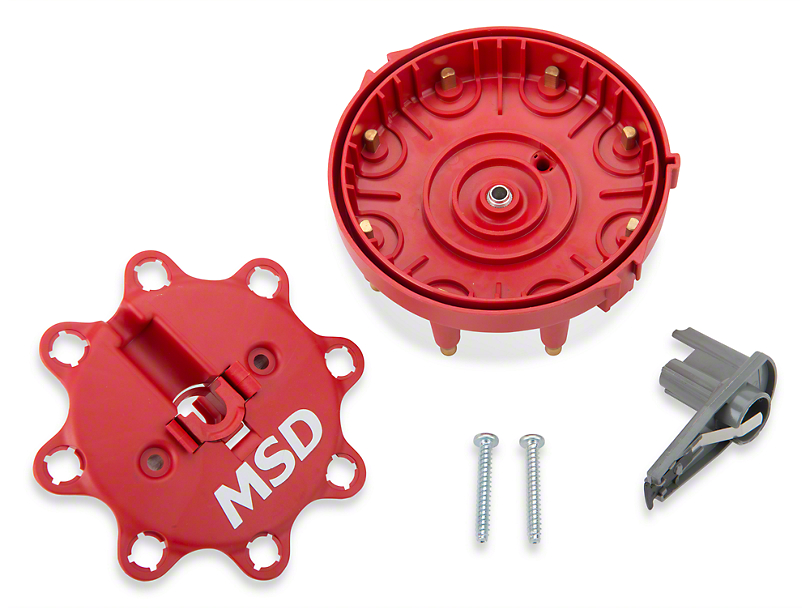 MSD Replacement Cap and Rotor (86-95 5.0L)