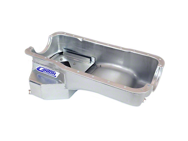 Canton Rear Sump Oil Pan; Road Race (86-95 5.0L)