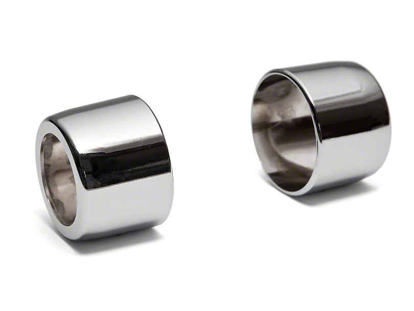 Modern Billet Chrome Shifter Handle Covers - Automatic (05-09 All)