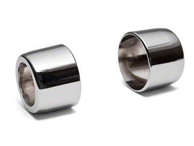 Modern Billet Chrome Shifter Handle Covers (05-09 w/ Automatic Transmission)
