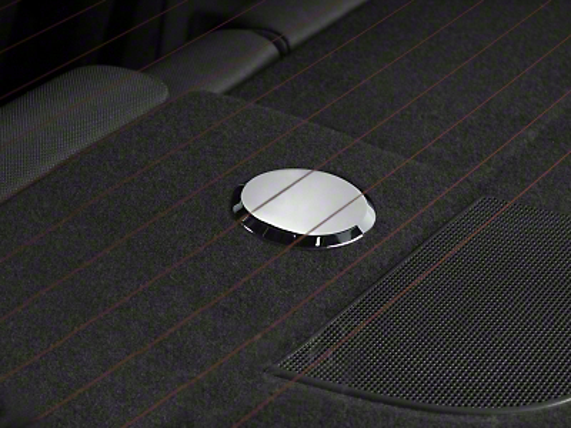Modern Billet Chrome Rear Seat Anchor Medallions (05-14 All)