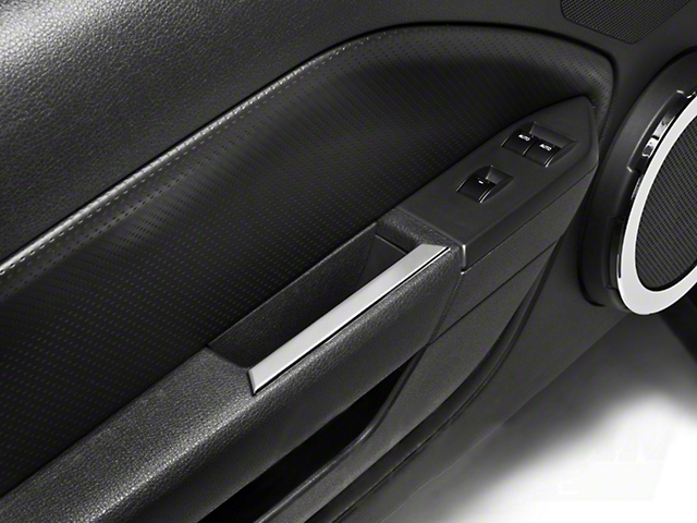 Modern Billet Mustang Chrome Interior Door Handle Accents 15521 (05 ...