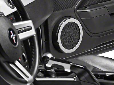 Modern Billet Chrome Speaker Trim Rings (05-09 All)