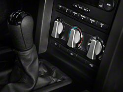Modern Billet Satin A/C Knob Covers (05-09 All)