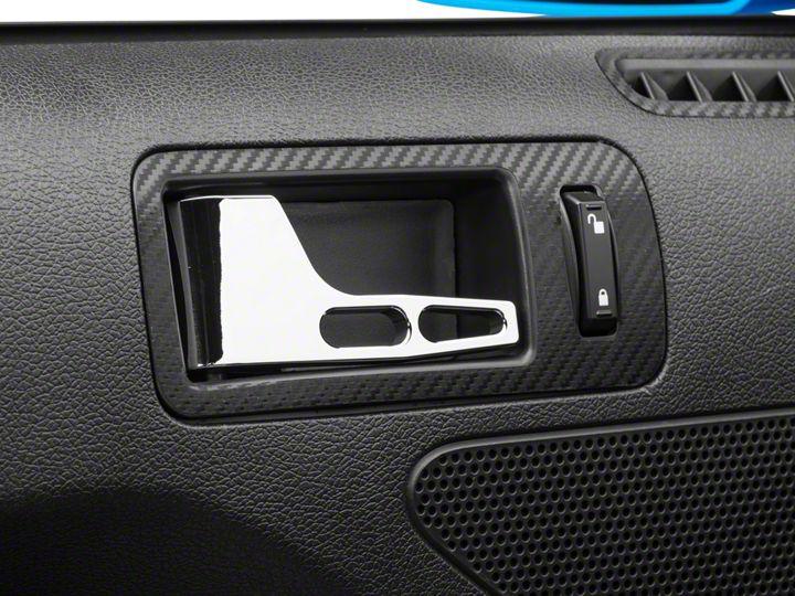 Chrome Mustang Billet Interior Door Handles 05 09 Installation