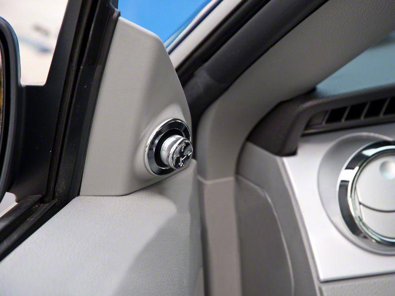 Modern Billet Chrome Mirror Control Cover (05-09 All)