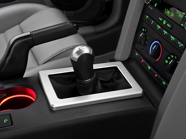 Modern Billet Satin Shifter Bezel (05-09 w/ Manual Transmission)