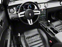 Modern Billet Billet Interior Complete Kit; Chrome (05-09 GT, V6 w/ Manual Transmission)