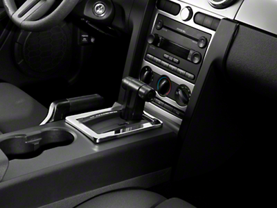 Modern Billet Mustang Chrome Billet Interior Complete Kit (05-09 GT, V6 w/ Automatic Transmission)