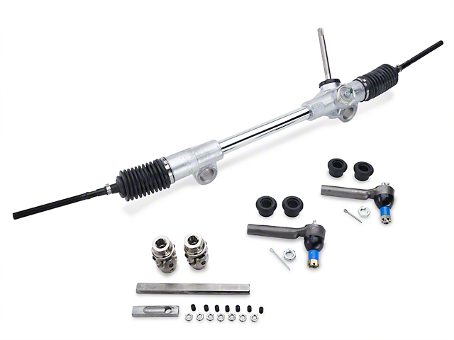 Flaming River Mustang 20:1 Manual Steering Rack Kit FR1890