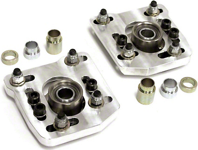 Steeda 4-Bolt Caster Camber Plates (94-04 All)