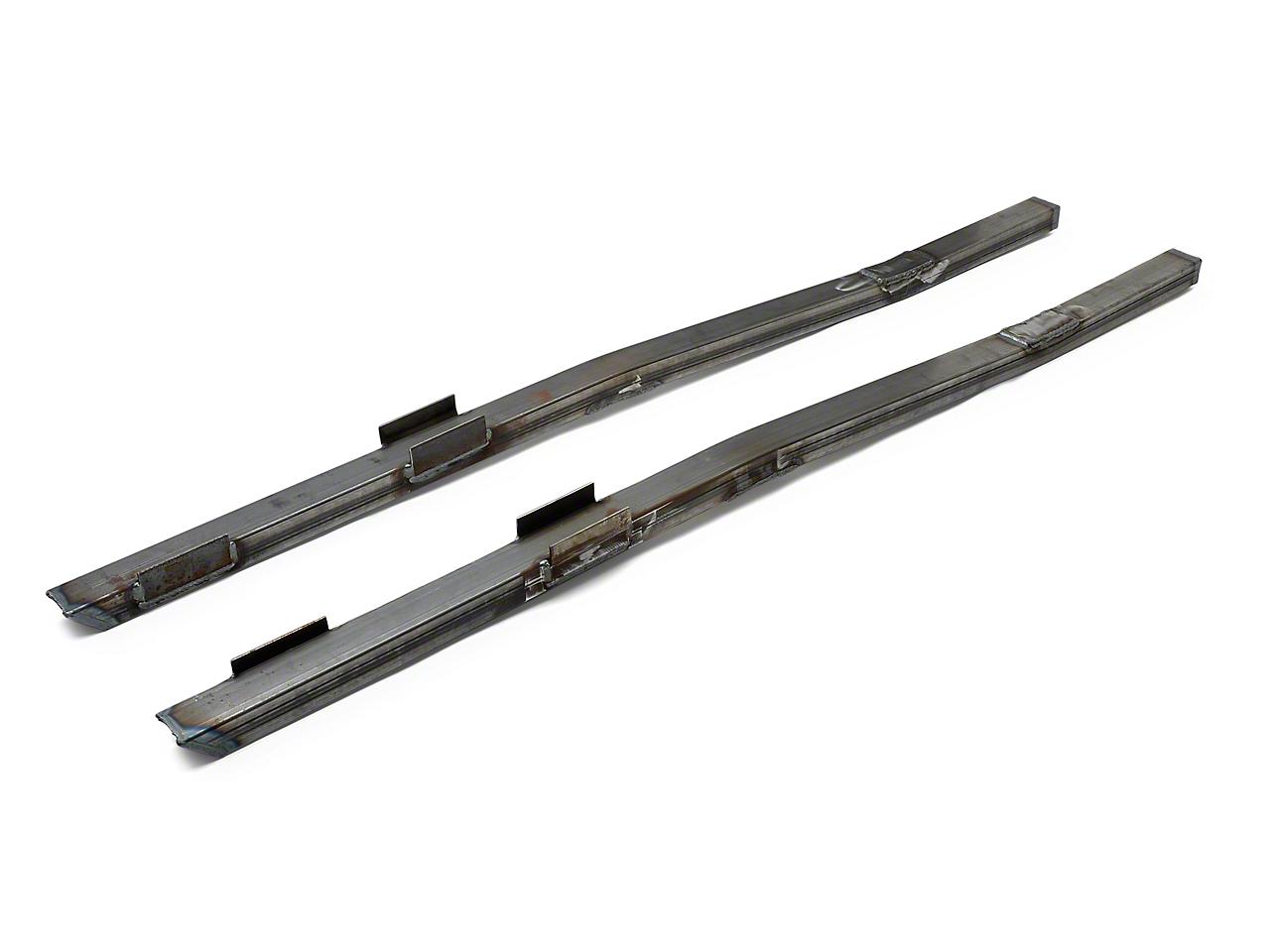 Steeda Full Length Subframe Connectors - Bare (79-04 All)
