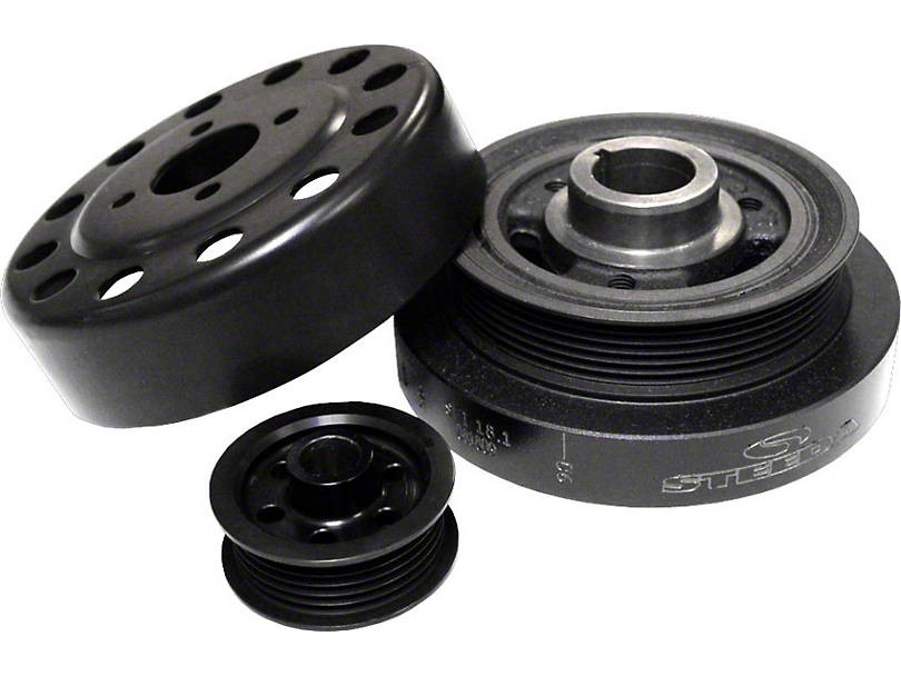 Steeda Underdrive Pulleys (96-99 Cobra; 2001 Bullitt)