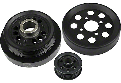 Steeda Underdrive Pulleys (2001 Cobra; 03-04 Mach 1)