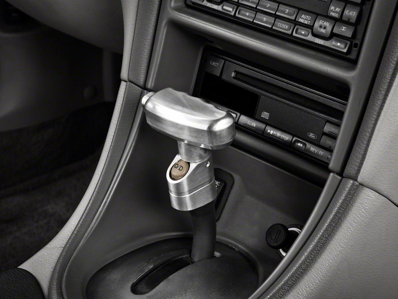 Modern Billet Mustang Billet T Handle Shift Knob 16179 87 04 W Automatic Transmission