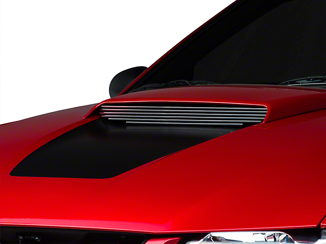 Modern Billet Polished Hood Scoop Billet Insert (99-04 GT)