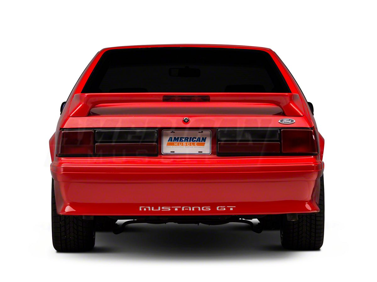 1987-1993 Ford Mustang Rear Bumper Cover GT