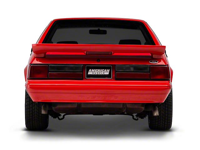OPR Rear Bumper Cover w/ Mustang Lettering - Unpainted (87-93 LX)