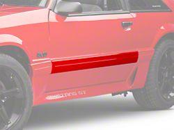 OPR Door Molding; Left Side (87-93 GT)