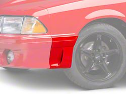 OPR Left Side Fender Molding w/ Side Scoop - Front (91-93 GT)