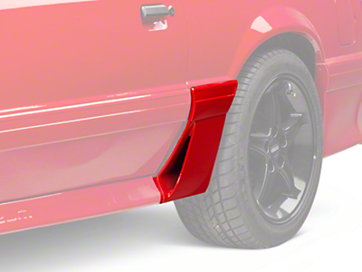 OPR Left Side Quarter Molding w/ Side Scoop - Side (87-93 GT)