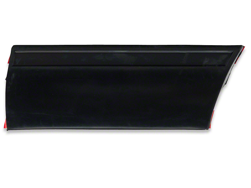 OPR Front Right Side Fender Molding; Rear (87-93 LX)