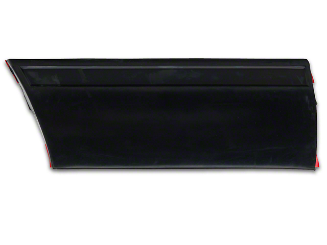 OPR Front Left Side Fender Molding; Rear (87-93 LX)