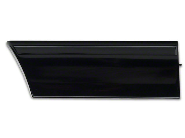 OPR Front Right Side Fender Molding; Front (87-90 LX)