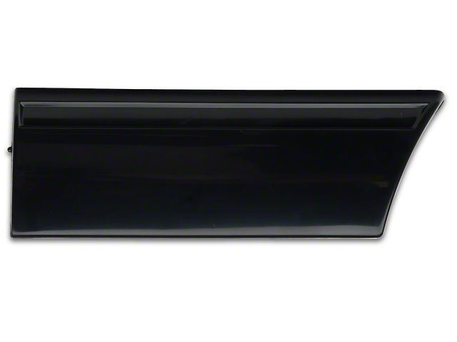OPR Front Left Side Fender Molding; Front (91-93 LX)