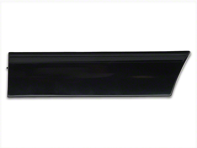 OPR Rear Quarter Molding; Right Side (87-93 LX)