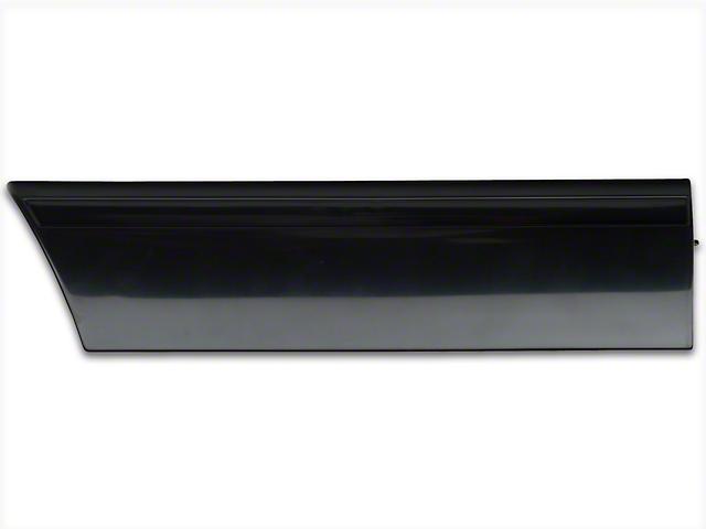 OPR Rear Quarter Molding; Left Side (87-93 LX)