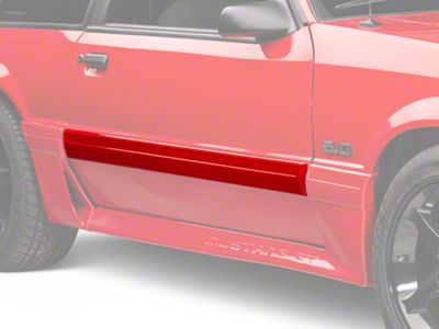Add Right Side Door Molding (87-93 LX)