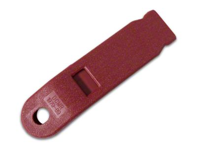 OPR Inner Seat Belt Sleeve - Red (79-89 All)