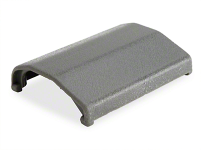 OPR Seat Belt Buckle Cover - Gray (83-89 All)